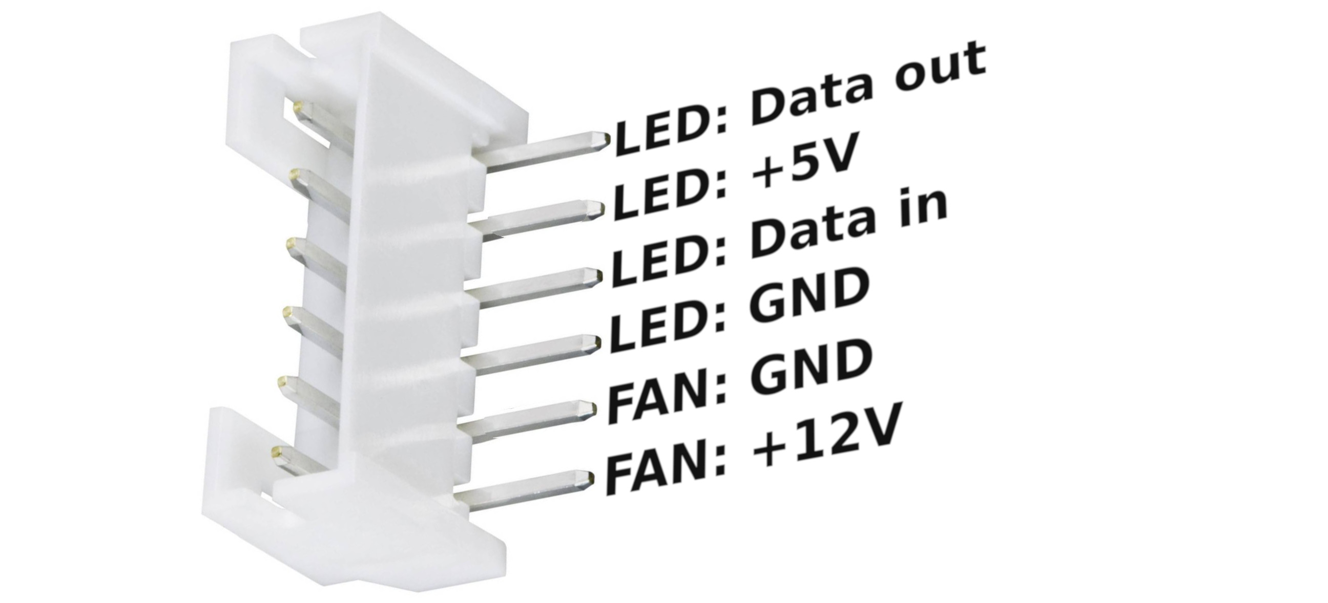 fan connector pinout