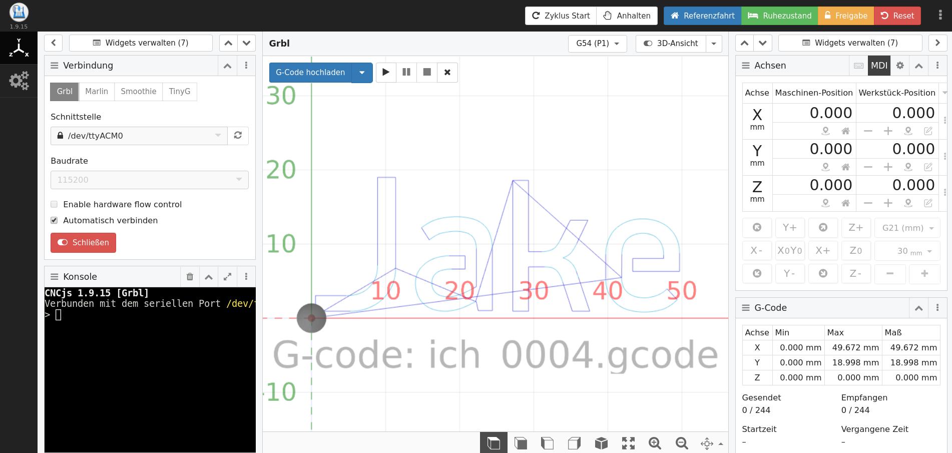 Laser Cutting: Inkscape -> CNCjs -> GRBL | Jake's Blog